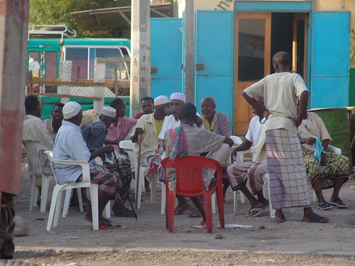 Listening to the Somali service of the BBC, Djibouti