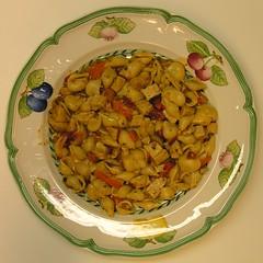 SC My Dinner (Old Shoe Woman) Tags: usa georgia southgeorgia dilosep05 squaredcircle nutrisystem plate pasta dinner dilosept05