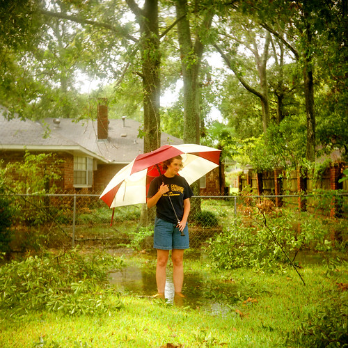 hurricane rita small aftermath & pam