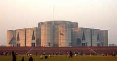 Jatiyo Sangshad Bhaban (National Assembly Building of Bangladesh)