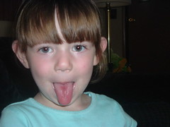 My tongue sticker outter (mandiesueny@verizon.net) Tags: bradnkaylee quorry likefatherlikeson 3 boys kay with tongue happy halloween