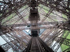 Eiffel Tower Lift