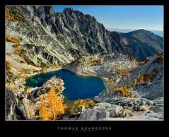 0239 (koaflashboy) Tags: autumn mountain lake mountains fall landscape washington raw slide september larches canong2 alpinelakeswilderness enchantmentlakes theenchantments 250v10f