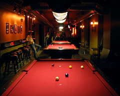 The Lounge Upstairs (eastofnorth) Tags: red philadelphia topf25 pool bar 1025fav digital canon ball table findleastinteresting cue object billiards portfolio eastofnorth sd20 dinosbirthday eoncollab