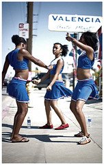 Ruff N' Stuff (Shavar Ross) Tags: california street blue school girls people music youth dance cheerleaders dancing teens highschool teen soul africanamerican hiphop rap rb krump bootyshaking utatafeature shavarrosscom