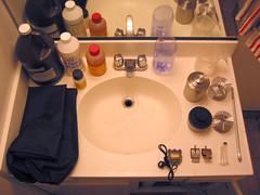 12-step bathroom-sink-darkroom program