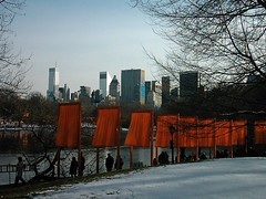 nyc_004 (madmaharaja) Tags: centralpark christo newyork gates orange gatesmemory art saffron newyorkcity nyc travel usa winter