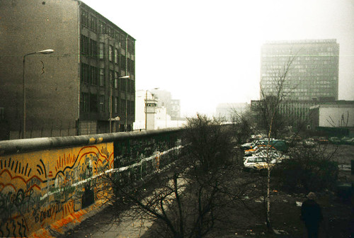 Berlin Wall 1987 by fjords.