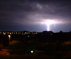 Independance day (Lolo_) Tags: storm night ufo strike lightning provence nuit orage aix clair foudre unchain