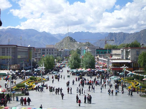 Square in Lhasa