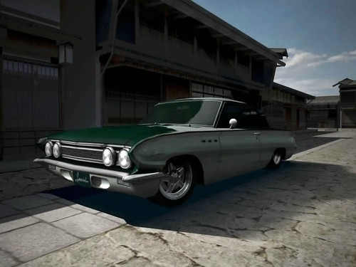 62 Buick Special. Taken in Photo Mode in the video game Gran Turismo 4
