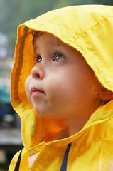 year 2, day 213 - rain, rain go away (-Angela) Tags: 2005 fall topf25 yellow canon theson maybe 50100fav raincoat 2005top100faves