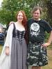 11/2/03: April and Spotty, Celtfest