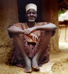 wisdom colors (janchan) Tags: africa portrait people men rollei rolleiflex village native documentary tribal elder nigeria indigenous reportage fulani hausa whitetaraproductions sfidephotoamatori