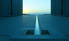 Salk Down the Axis (ken mccown) Tags: salkinstitute louiskahn lajolla light architecture deleteme10