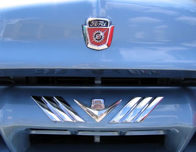 lakemirrorclassicautofestival classic motoring cars vintage auto macchine macchina automobile blue 1954fordf100 ford