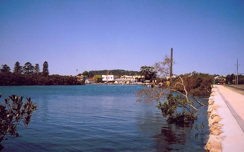 Woy Woy From Brisbane Water Drive