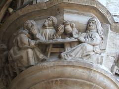 Medieval supper on the Hotel de Ville, Brussels