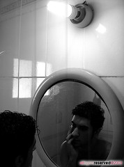 How Long Will I Stay Young? (Mohammed Nairooz) Tags: friends portrait bw white selfportrait man black male guy me self ego naked model friend moi mohammed topless amature mohamad nairooz