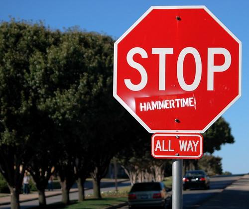 Stop Hammertime.