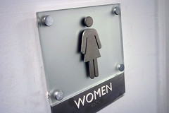 women's bathroom (international symbol)