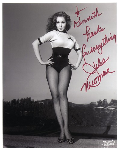 thank's for everything, julie newmar
