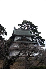 Tower in the Woods (speex) Tags: japan hirosaki tower woods