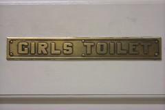 Bathroom Sign by labelreader