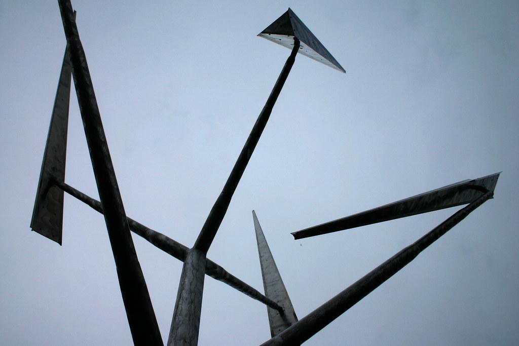 乔治 瑞奇George Rickey(美国1907–2002)雕塑作品集1 - 刘懿工作室 - 刘懿工作室 YI LIU STUDIO