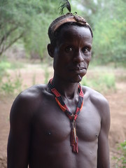 Karo man (CharlesFred) Tags: africa people expedition nature river african south rafting tribes remote ethiopia omo southomo omoriver southernethiopia raftingexpedition remoteriver remoteriverexpeditions omoriverpeople omorivertribes