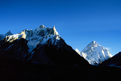 Velvia50-09 (Kelly Cheng) Tags: pakistan mountain velvia concordia getty k2 marbalpeak trekday8concordia elevation60006500m mountainshimalaya summitk2 altitude8611m elevation85009000m summitmarbalpeak altitude6256m pickbykc