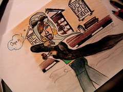 Awana (-ViDa-) Tags: dubai uae arab caricature