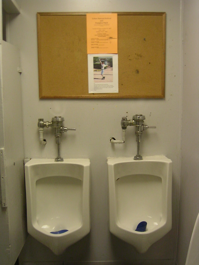The World's Best Photos Of Peeing And Urinals