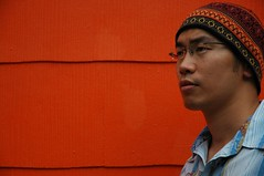 my 1st self portrait. (Krates) Tags: mc05negativespace selfportrait portrait