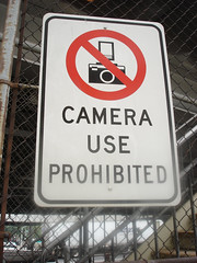Camera Use Prohibited (Curtis Gregory Perry) Tags: 2005 camera new york nyc newyorkcity signs ny newyork sign warning photography october roadtrip septe