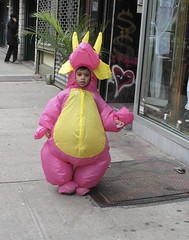 the day my parents made me gay (trixiebedlam) Tags: halloween dragon dinosaur myparentsmademegay peopleincostumes