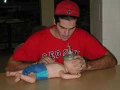 Dave at CPR class