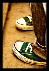 All Star (capitan-patata) Tags: 15fav verde green feet topf25 1025fav shoes 100v10f converse pies allstar chucks chucktaylor zapatillas sportshoes josemanuelholguin 50club
