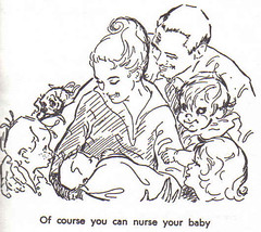 of course you can nurse your baby