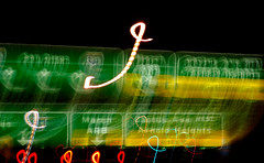 March ARB (disneymike) Tags: california signs cars nikon headlights freeway d100 nikkor taillights 215 marb perris