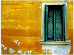 Lemon & Mint (HaMeD!caL) Tags: lemon mint yellow green window wall texture saturated flavor venice italy topf25 topf50