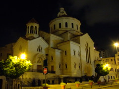 St. Elie Armenian Catholic Church, Beirut (phool 4  XC) Tags: lebanon church christian beirut  drivebynights   armeniancatholic phool4xc