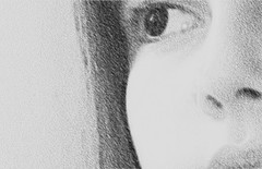 Carvo (marlenells) Tags: portrait eye freeassociation face topc25 topv111 510fav interesting topv333 sextaposer topc50 charcoal coal carvo interestingness224 i500 alphabetphotomino