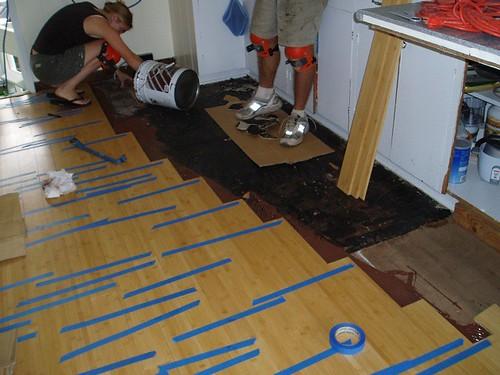 Bamboo Floor Install 5