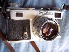 Kiev 4a with Sonnar 50mm f2 lens (jiulong) Tags: leica contax sydney kiev4 sonnar zeiss