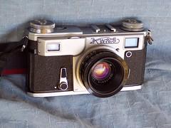 Kiev 4 with Jupiter-12 35mm lens (jiulong) Tags: camera kiev4 jupiter12
