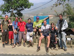 Our homestay group (shescrafty) Tags: vietnam sapa gert