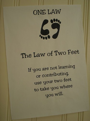 The law of two feet