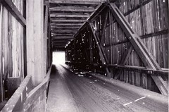 covered bridge (Jess J) Tags: bridge oregon covered transportation sr102 oregoncoveredbridges