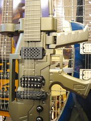 gun shaped guitar (hey-gem) Tags: gun rifle guitar guitars electricguitar electricguitars taiwan taipei 阿通伯 instruments musicalinstruments music macro exoticguitars gemexoticguitars